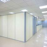 прозрачные офисные перегородки